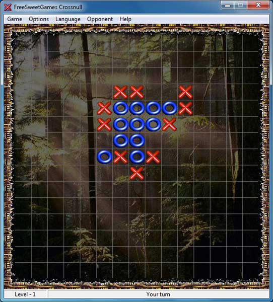 Click to view FreeSweetGames Crossnull 2.3.40 screenshot