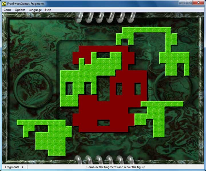 Click to view FreeSweetGames Fragments 3.0.40 screenshot