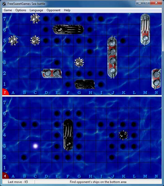Click to view FreeSweetGames Sea Battle 1.3.40 screenshot