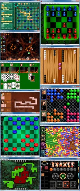 Screenshot of FreeSweetGames collection