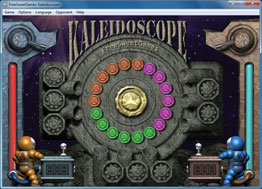 Screenshot of the erotic Kaleidoscope