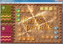 Screenshot of the logic Pairs Parade