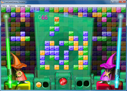 Screenshot of the logic Pentafall