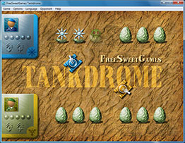 Screenshot of the logic Tankdrome