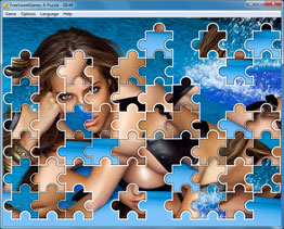 Screenshot of the adult X-Puzzle